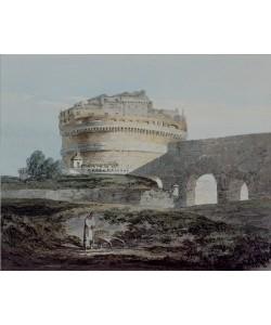 Joseph Mallord William Turner, Castle of San Angelo, Rome (w/c on paper)