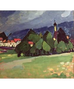 Alexej von Jawlensky, Landscape, Murnau