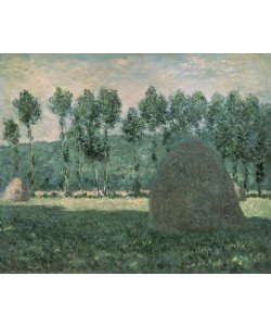 Claude Monet, Haystacks near Giverny, c.1884-89 (oil on canvas)