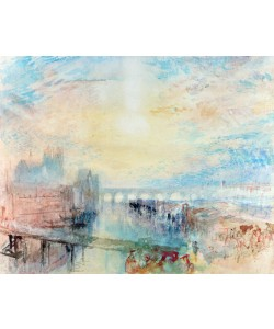Joseph Mallord William Turner, View of Lyons (w/c on paper)