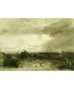 Joseph Mallord William Turner, The Fifth Plague of Egypt, 1806-10 (pen and ink and wash)