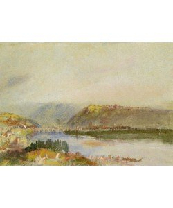 Joseph Mallord William Turner, Givet from the North, c.1839 (gouache and w/c)