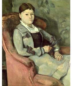 Paul Cezanne, The Artist's Wife in an Armchair, c.1878/88 (oil on canvas)