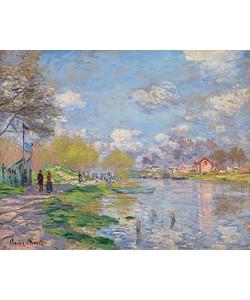 Claude Monet, Frühling an der Seine