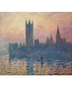 Claude Monet, Das Parlament in London bei Sonnenuntergang