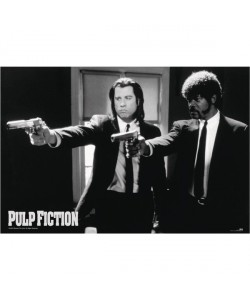 Quentin Tarantino, Pulp Fiction, Travolta & Jackson ,Guns,