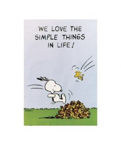 Peanuts, We Love The Simple Things In Life!
