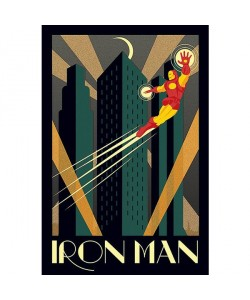 Unbekannt, Iron Man , Art Deco