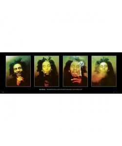 Bob Marley, 4 verschiedene Abbildungen