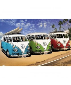 Unbekannt, VW Transporter, 3 California Campers