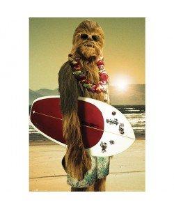 George Lucas, Star Wars, Chewbacca Surfin
