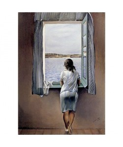 Salvador Dali, Women At The Window