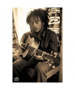 Bob Marley, Bob Marley Poster Gitarre