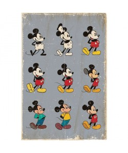 Walt Disney, Mickey Mouse, Evolution