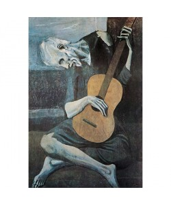Pablo Picasso, The Old Guitarist,