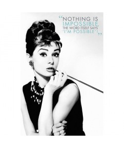 Audrey Hepburn, Nothing Is Impossible