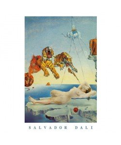 Salvador Dali, Dream Caused By A Bee Flight