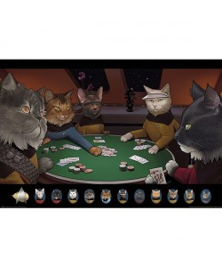 Jenny Parks, Star Trek , Cats Poker