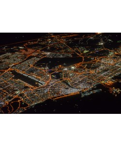 Hady Khandani, GEO ART - NIGHTLY VIEW OF ILLUMINATED DUBAI - UNITED ARAB EMIRATES 1