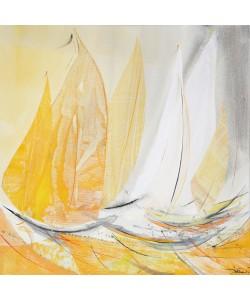 Jorgen Habedank, gelbe Lichtsegler im Quadart