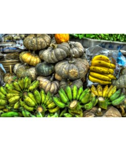 Hady Khandani, HDR - PUMPKINS AND BANANAS