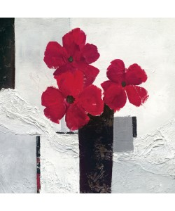 Ruby Henning, Red Flower Composition