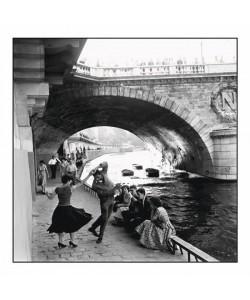 Paul Almasy, Rock'n Roll Sur les Quais De Paris - Seine Ufer