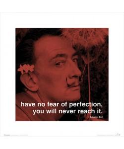 Salvador Dali, Have no fear of Perfection