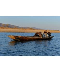 Hady Khandani, NORTH KOREAN MERCHANT BOAT ON YALU RIVER