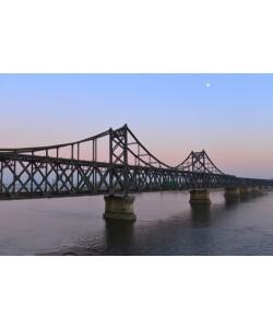 Hady Khandani, SINO-KOREAN FRIENDSHIP BRIDGE OVER YALU RIVER BETWEEN CHINA AND NORTH KOREA - DANDONG 2