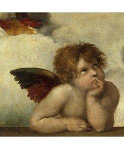 Leinwandbild Raffael - Engel I