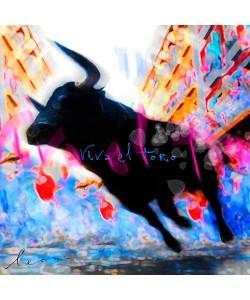 Leinwandbild Leon Bosboom - Viva el Toro