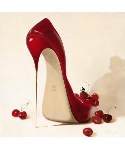 Leinwandbild Inna Pansenko - Cherry Love