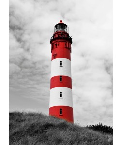 Leinwandbild Hady Khandani - Amrum Lighthouse
