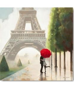 Leinwandbild Marco Fabiano - Paris Romance II