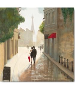 Leinwandbild Marco Fabiano - Paris Romance I