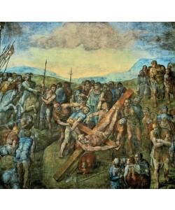 Michelangelo Buonarroti, Kreuzigung Petri