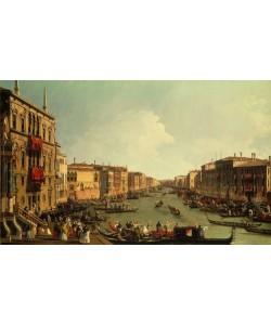 Giovanni Antonio Canaletto, Las regatas sobre el Gran Canal