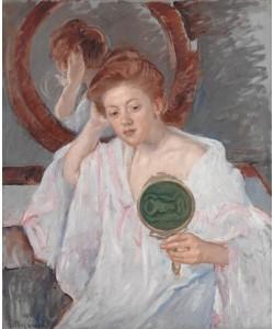 Mary Cassatt, Denise an ihrem Frisiertisch