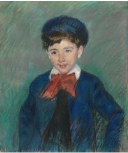 Mary Cassatt, Portrait of Charles Dikran Kelekian, Age Eight