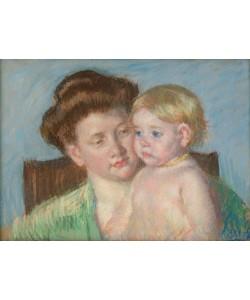Mary Cassatt, Mutter und Kind