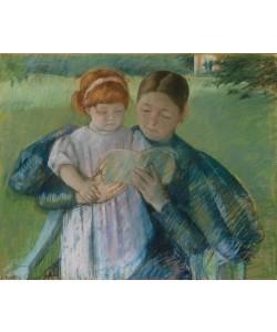 Mary Cassatt, Nurse Reading to a Little Girl