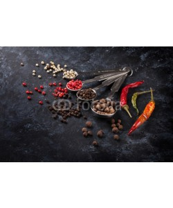 karandaev, Various peppercorn and chili pepper