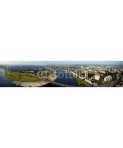 Blickfang, Düsseldorf Luftaufnahme Panorama