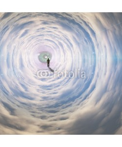 rolffimages, Space tunnel with God's eye