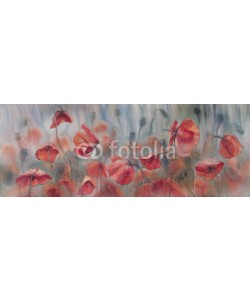 Egle, Poppies watercolor