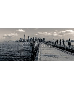 diego, View of Manhattan from Liberty Island