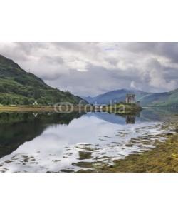 Alta Oosthuizen, Eilean Donan Castle at Dornie on Kyle of Lochalsh in Scotland wi