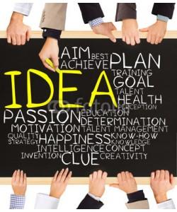 EtiAmmos, IDEA concept words