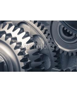 nikkytok, engine gear wheels, industrial background